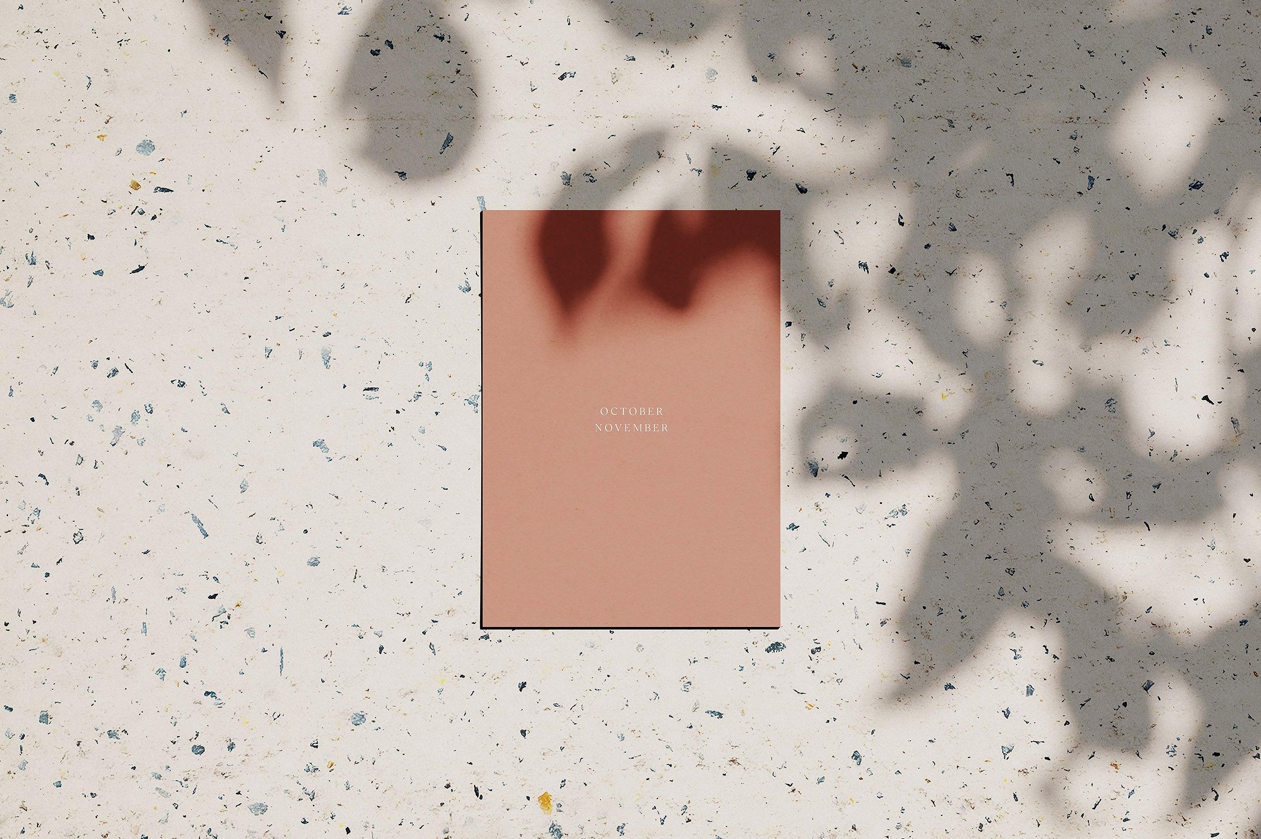 文艺枫叶纸张PSD智能贴图模板 Louve – (Mockup Kit) Scene Creator