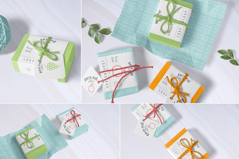 小清新系列逼真工艺肥皂模型Craft Soap Mockups