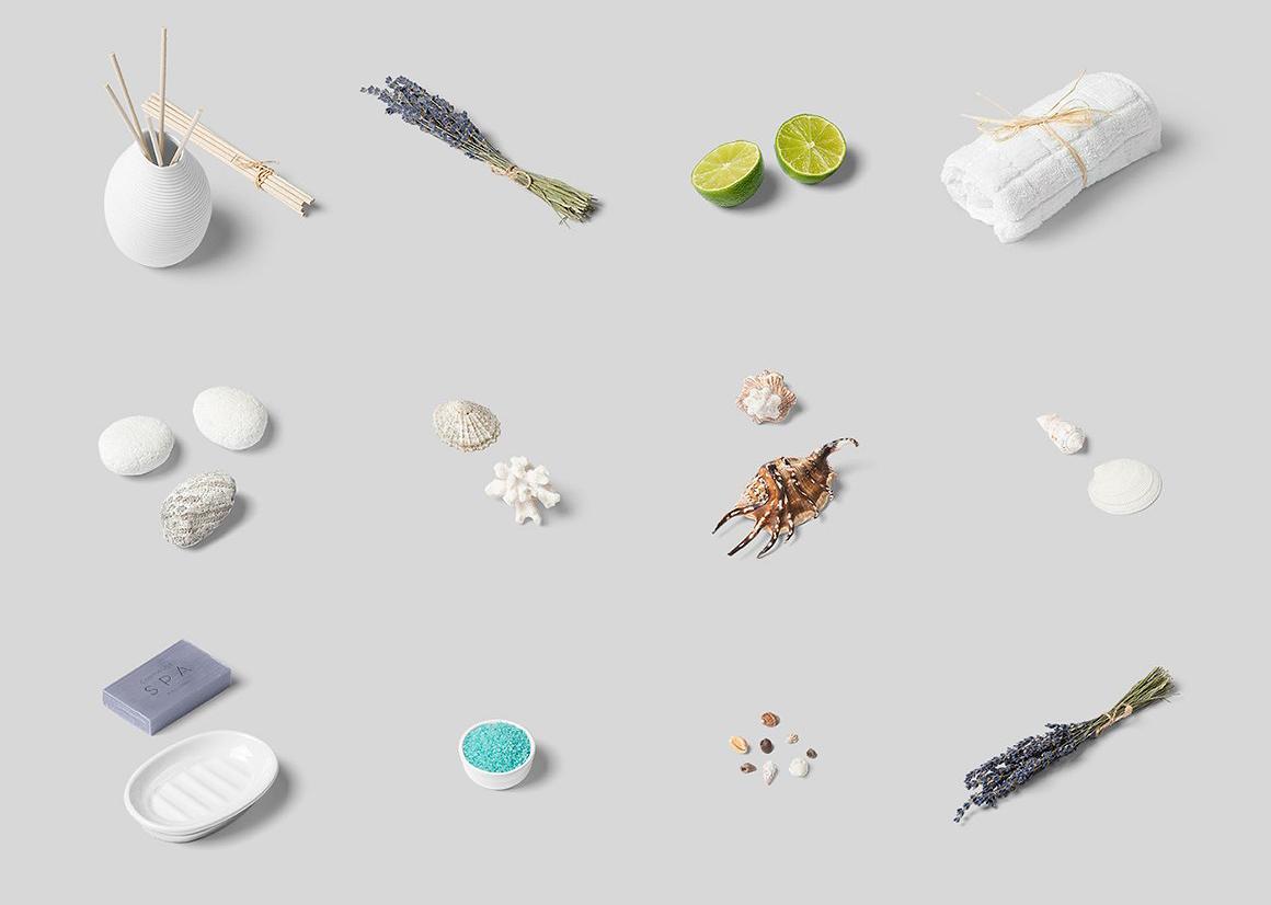 (合集)美发水疗化妆品护肤品品牌设计提案展示样机 Branding Cosmetics Mockup Creator插图(23)