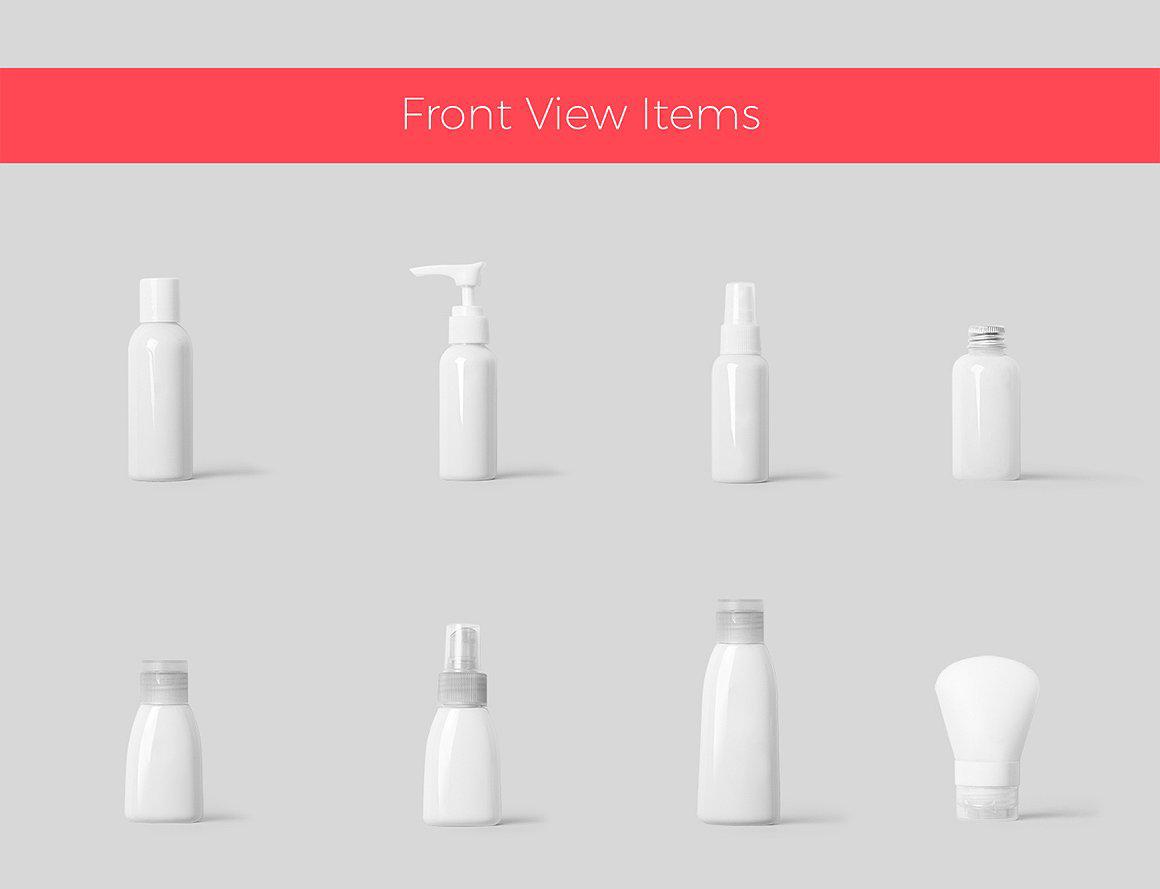 (合集)美发水疗化妆品护肤品品牌设计提案展示样机 Branding Cosmetics Mockup Creator插图(24)