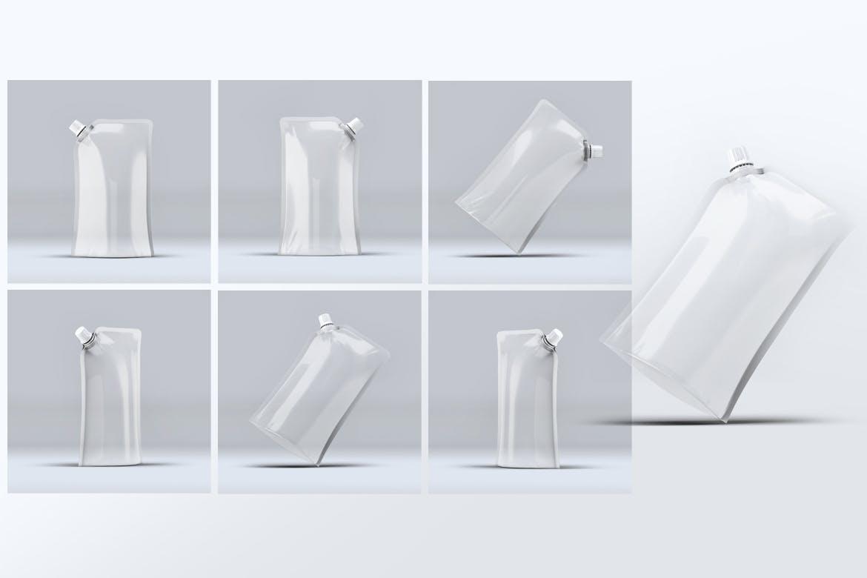 酸奶牛奶包装设计VI样机展示模型