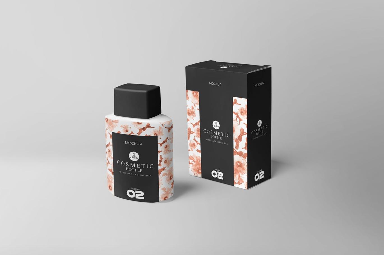 化妆品包装设计VI样机