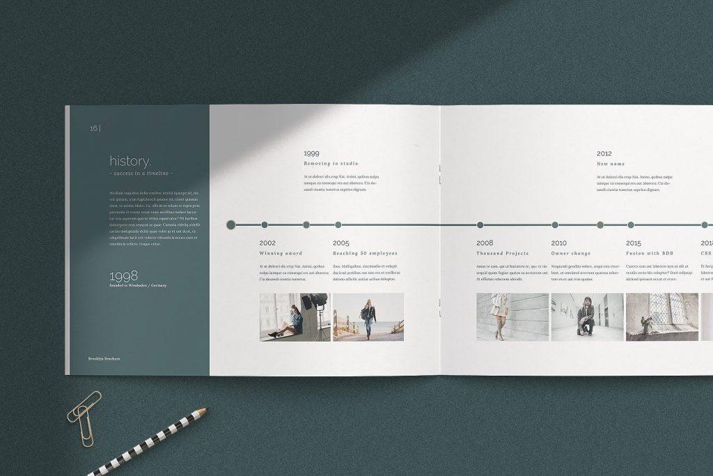 企业介绍项目策划提案BROOKLYN Multipurpose Brochure