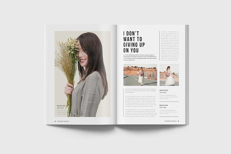 家居生活场景类画册模板Portfolio Magazine