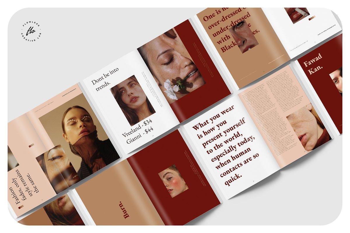 时尚摄影写真画册展示模板