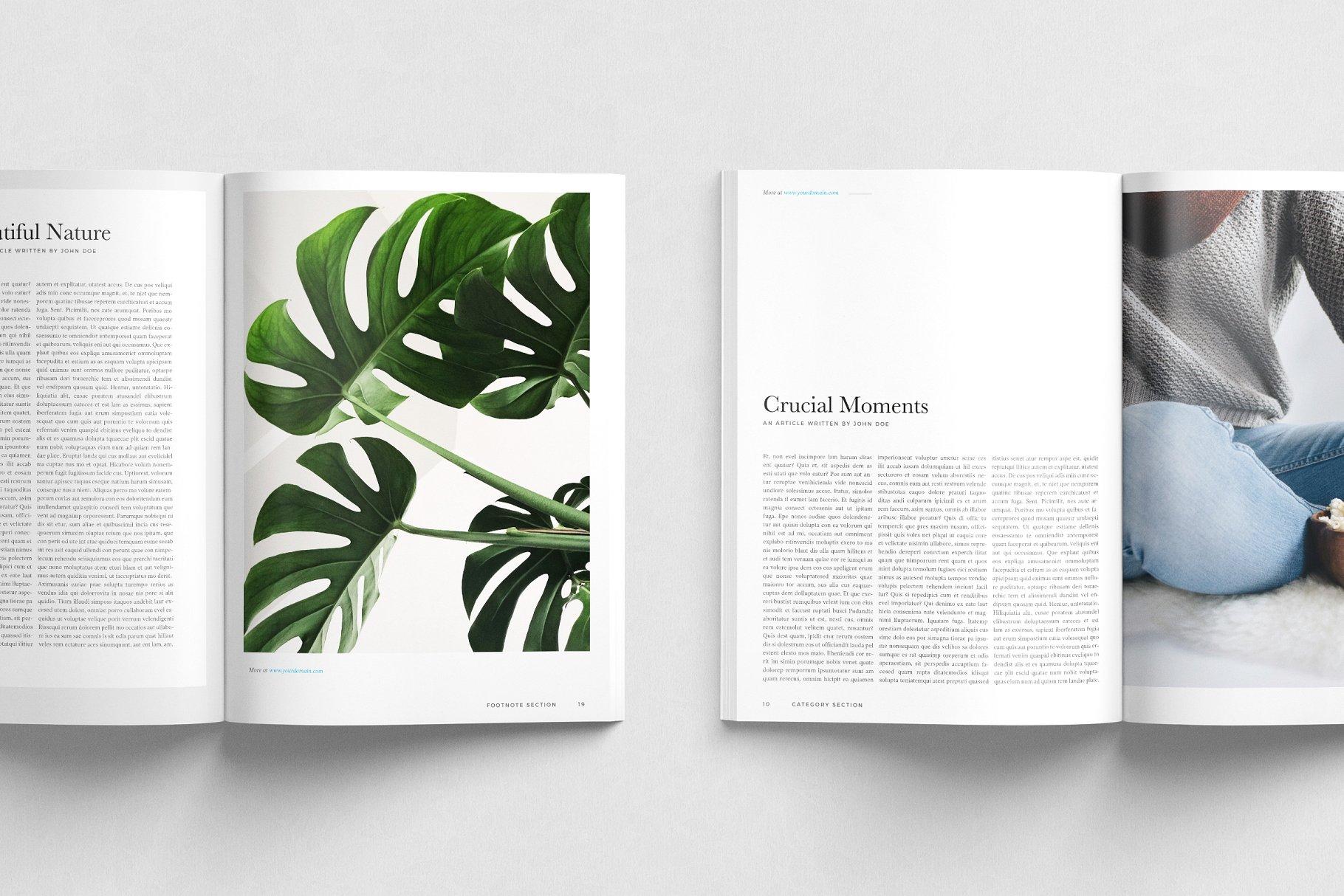 生活类杂志画册模板 New York Magazine Template
