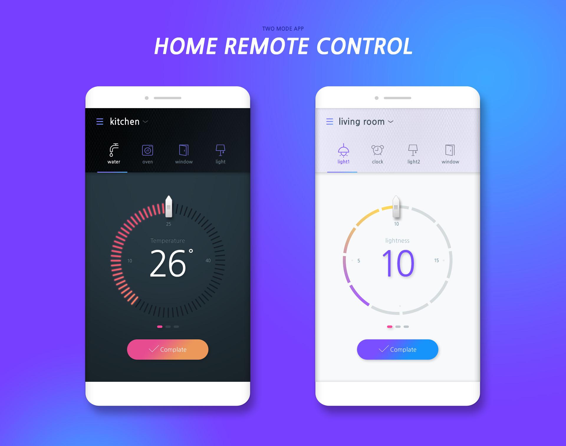 扁平风家用遥控器 home remote control APP