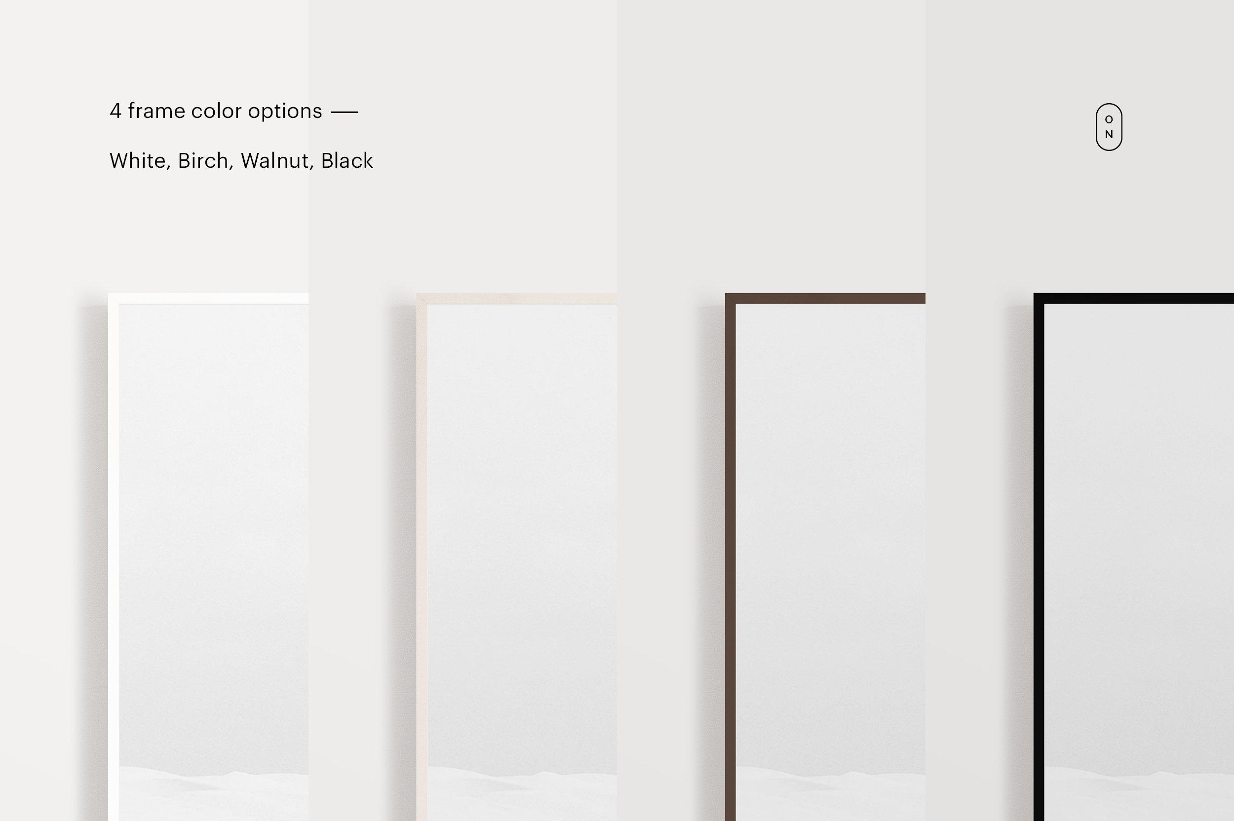 相框绿植展示样机 Frame Mockup Kit 3-Pack