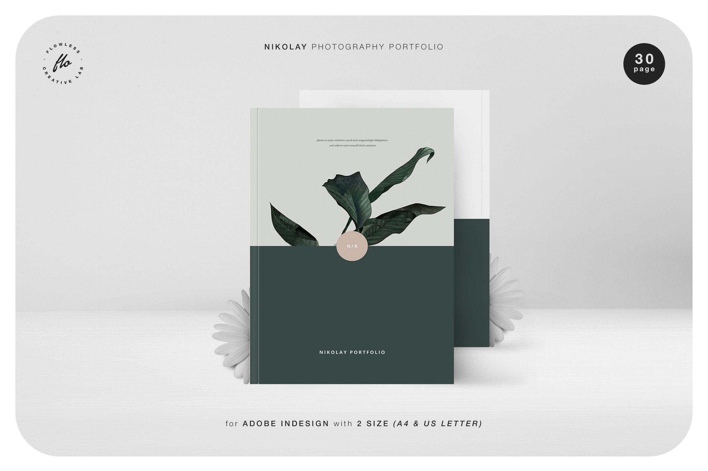 现代静物摄影艺术品模板 NIKOLAY Photography Portfolio