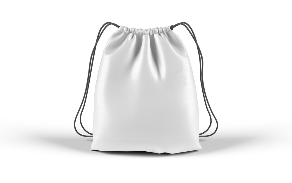 精致抽绳袋样机Drawstring Bag Free PSD