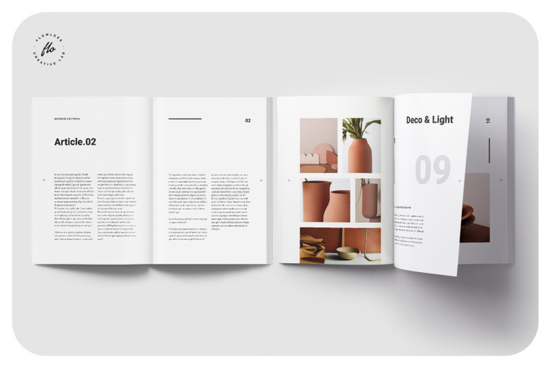 简洁风家居画册杂志模板FREDONIA_Home_Decor_Catalog(1)