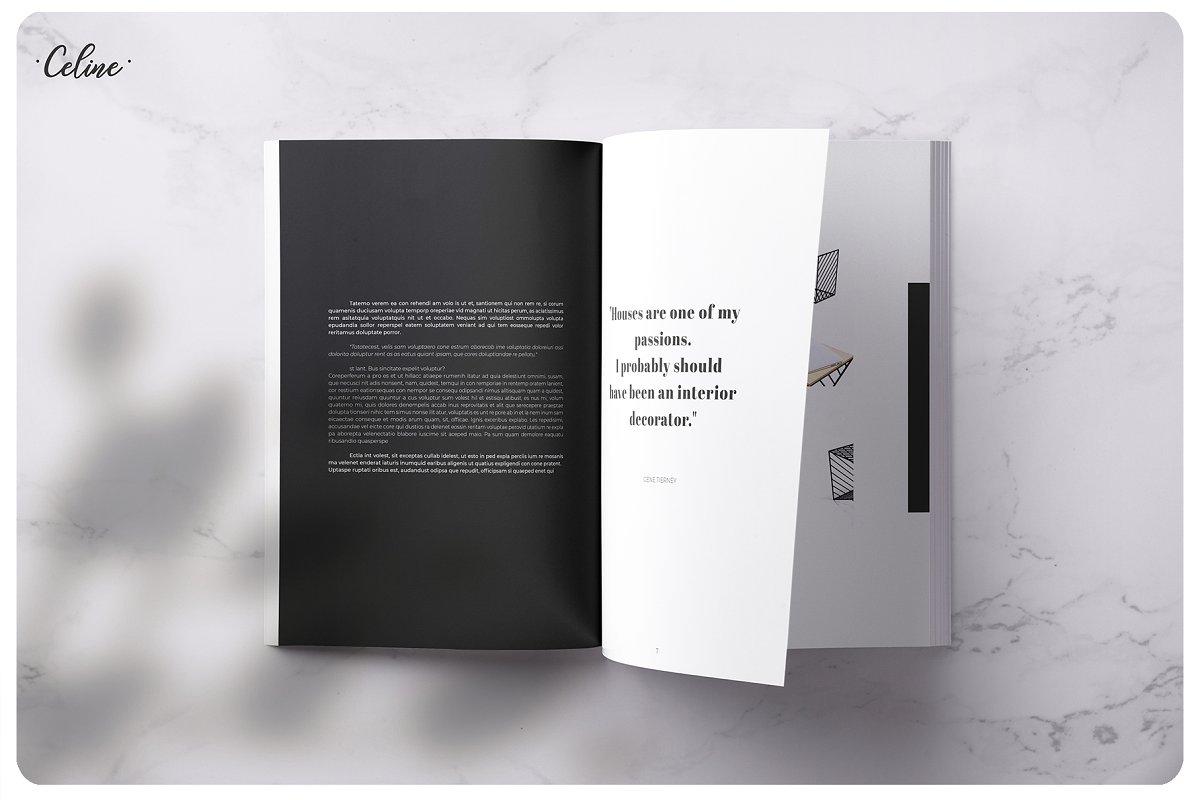 家居美学画册模板AESTHETIC Lookbook Catalog Template
