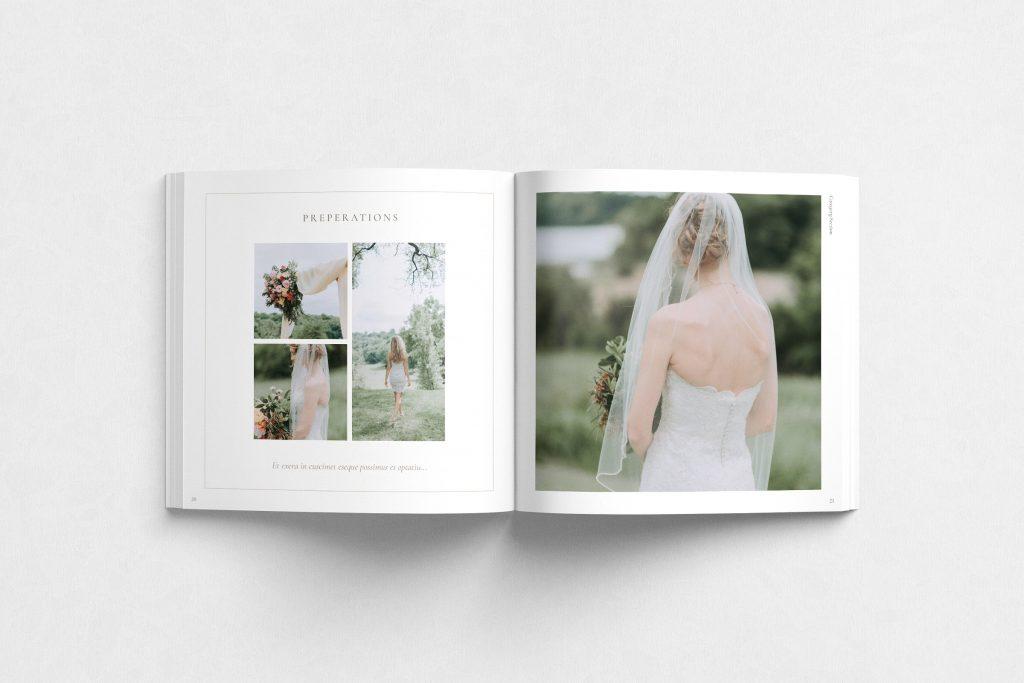 欧美婚礼主题照片画册杂志模板 Wedding Theme Photo Book