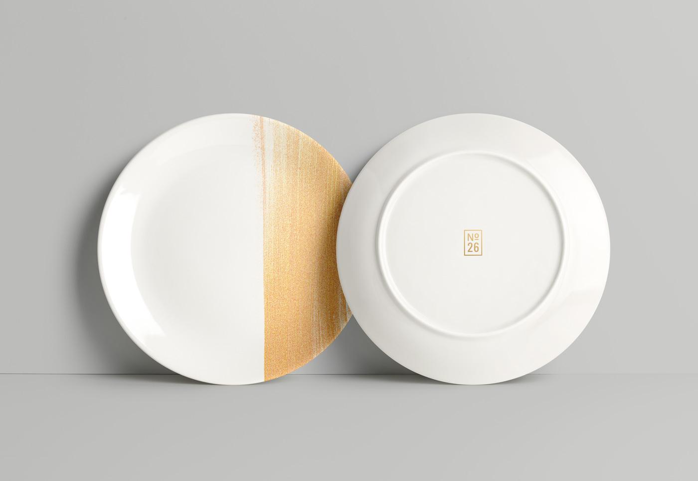 餐具样机Plate MockUp PSD