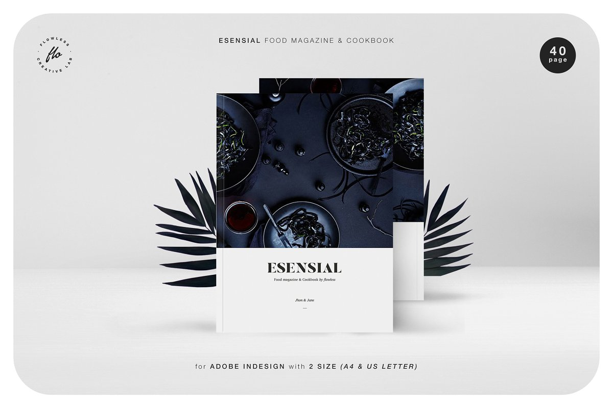 (合辑)8套各类杂志画册模板Magazine Template Bundle - 80% OFF
