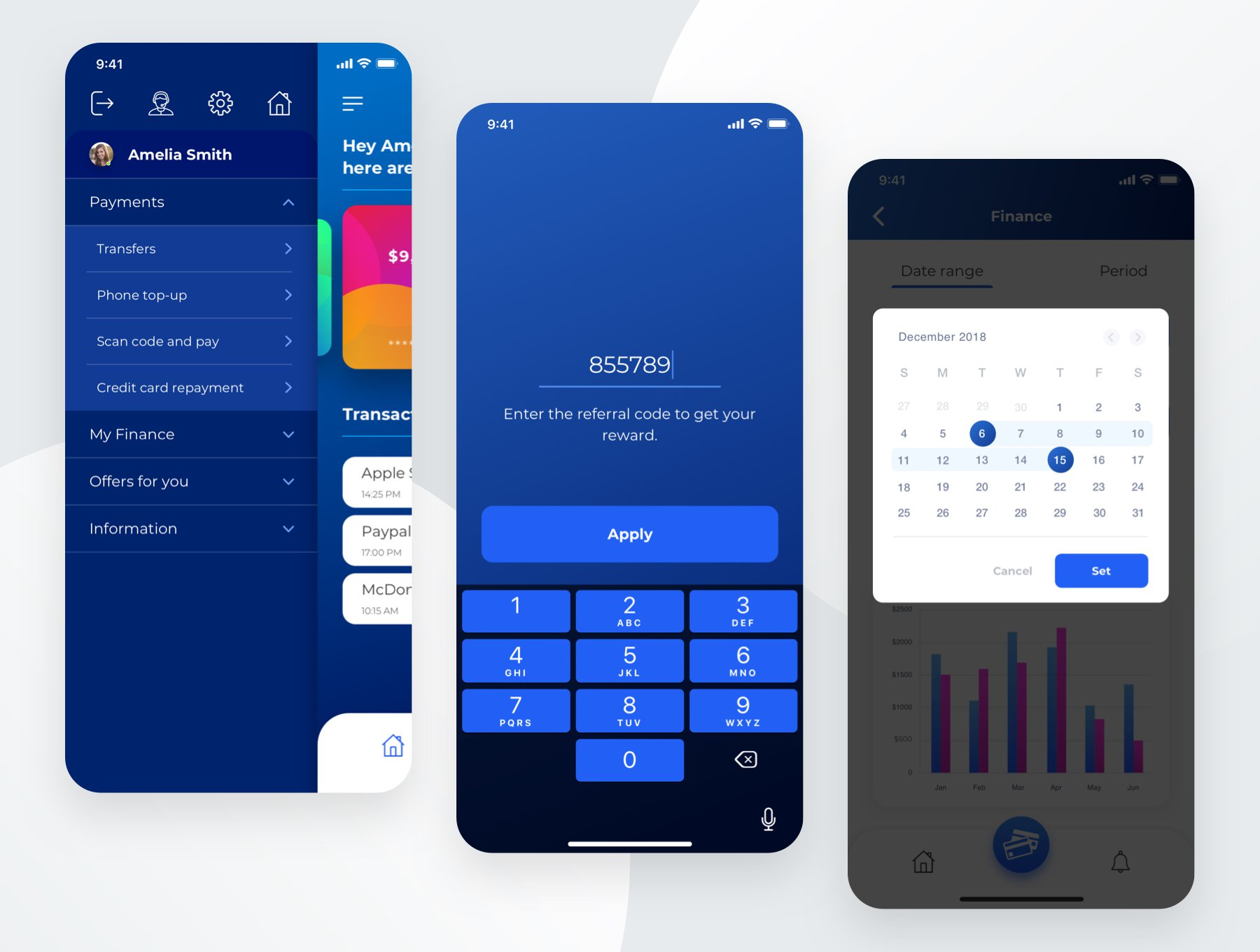 钱包 - 付款应用UI工具包Wallet - Payment App UI Kit