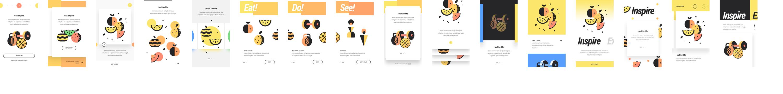 国外扁平风格APP 美食餐饮UI设计分享