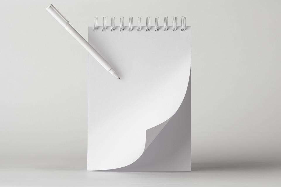 环状记事本样机Ringed Notepad Mockup Vol3