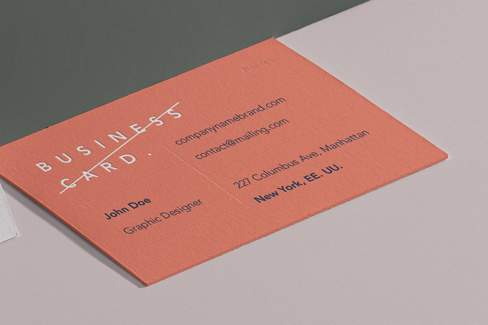 名片品牌样机2 Business Card Branding Mockup 2