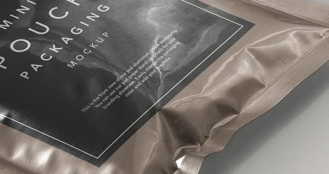 金属箔包装样机Metal Foil Packaging Mockup