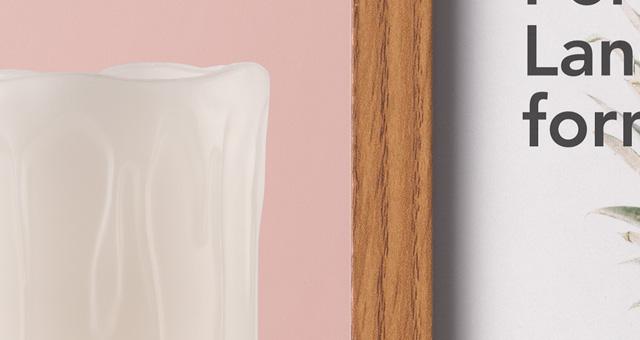 木框架样机Wood Frame Mockup