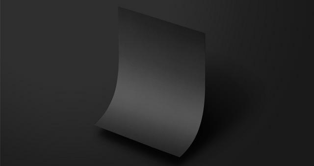 重力Psd纸样机Gravity Psd Paper Mockup