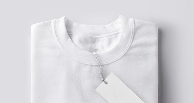 折叠的Psd运动衫样机Folded Psd Sweatshirt Mockup