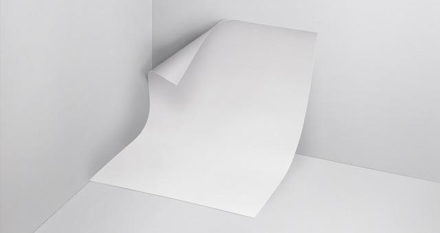 信纸样机Psd Letter Paper Mockup
