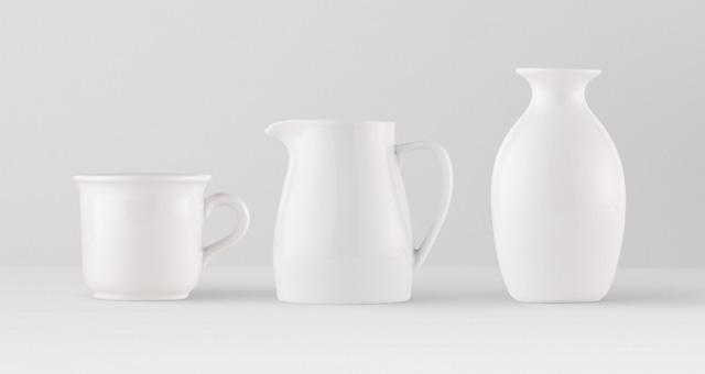 个性化家庭情侣陶瓷杯餐具杯子展示样机Tableware Psd Mockup