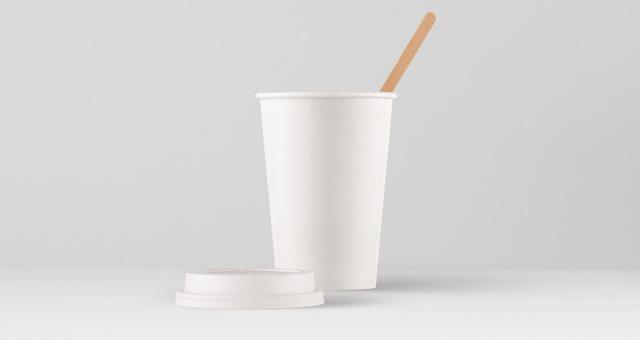 纸热杯样机 Paper Hot Cup Template