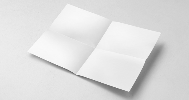 A4纸模拟 A4 Paper Mock-Up