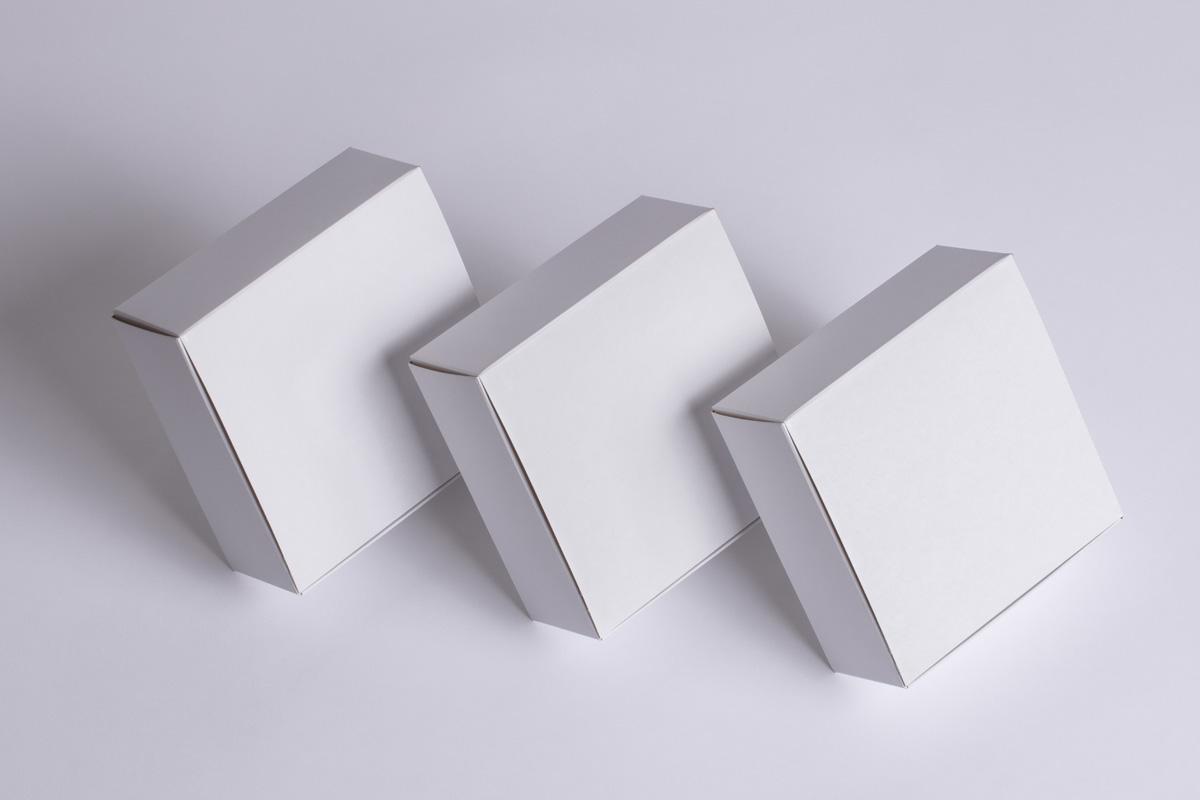 方盒包装样机2Square Boxes Packaging Mockup 2