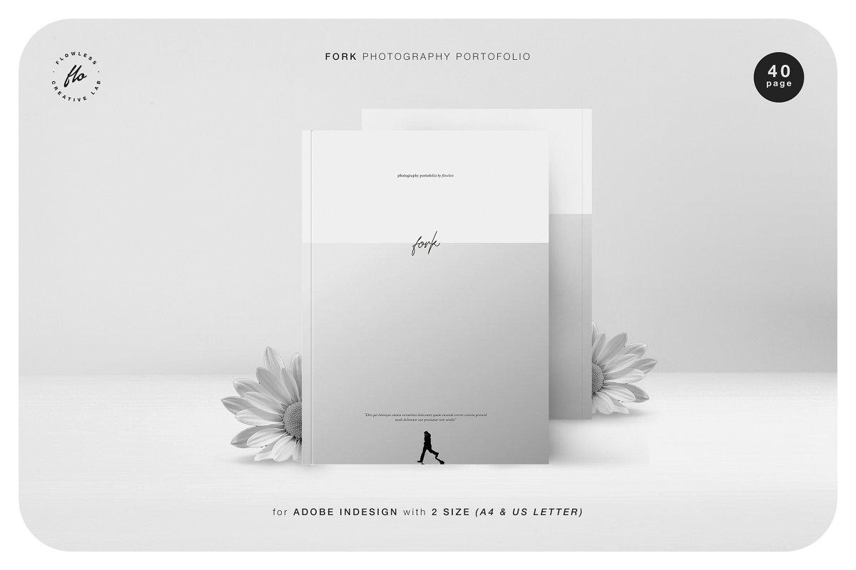 摄影画册 模板FORK Photography Portofolio