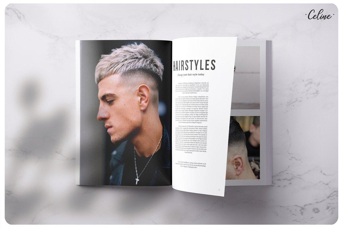 潮流画册杂志模板展示Branding Lookbook