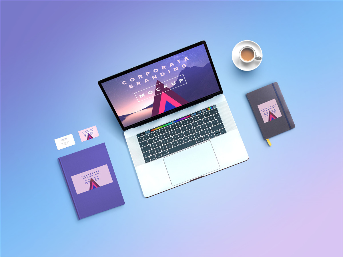 苹果Macbook电脑展示样机
