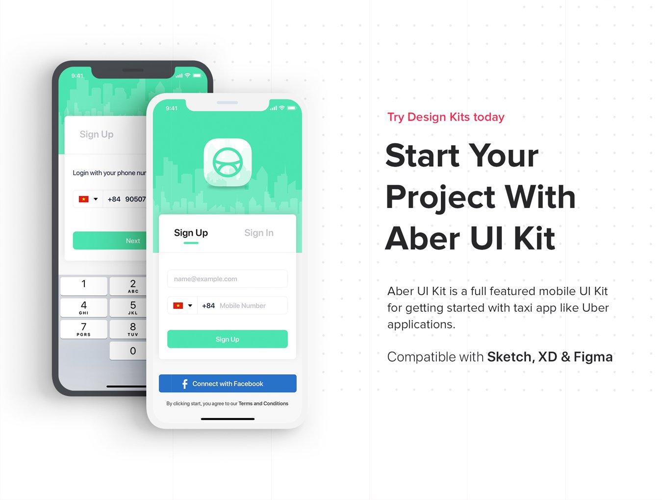 出行类UI工具包归纳Aber UI Kit