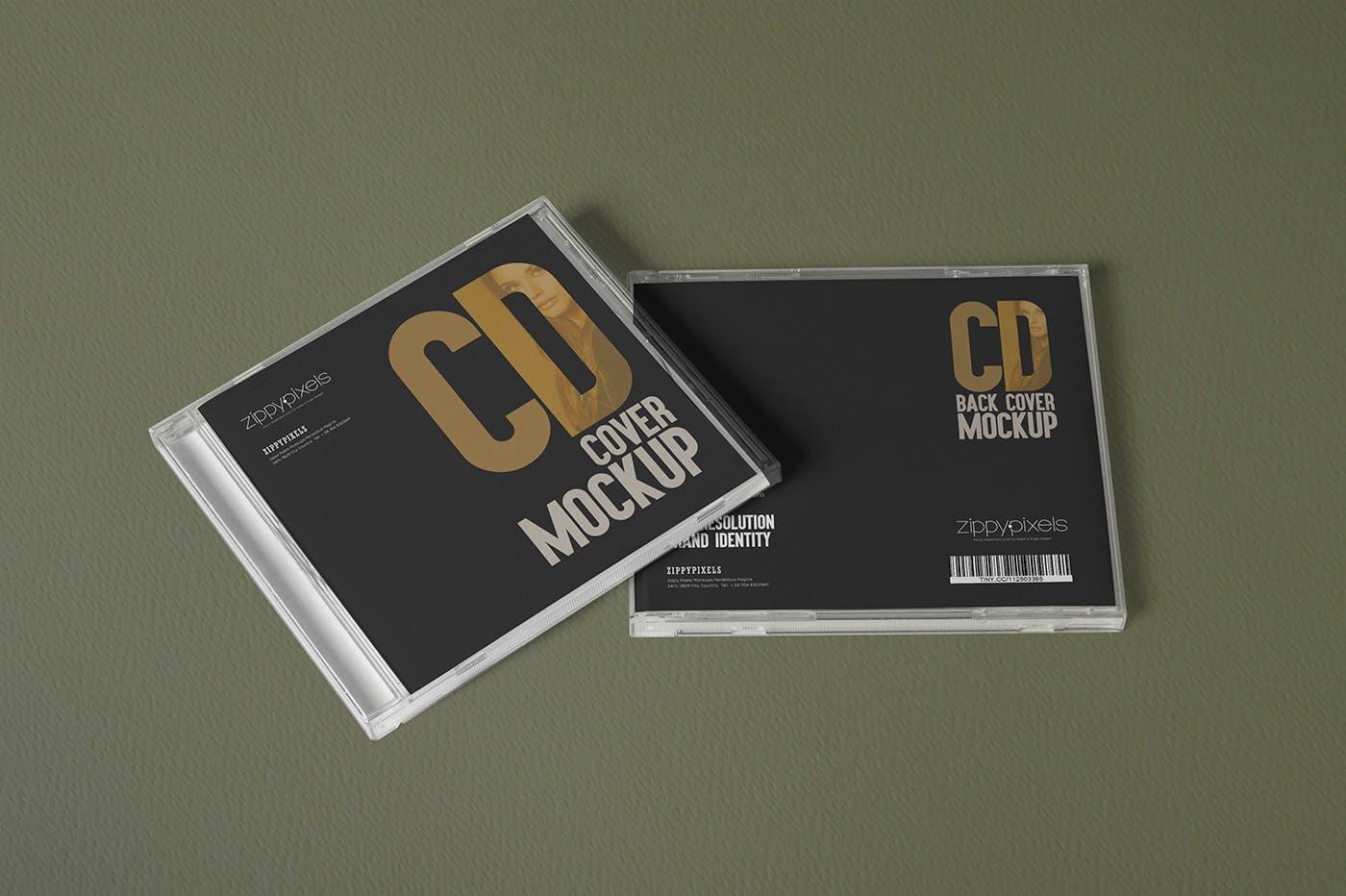 高端唱片样机素材场景素材模板6 CD Cover Mockups