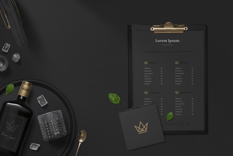黑色高端品牌场景样机智能贴图Black Branding Mockups Vol.3