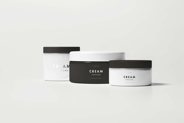 黑白极简设计化妆品VI样机展示模型cosmetic-mock-up-6