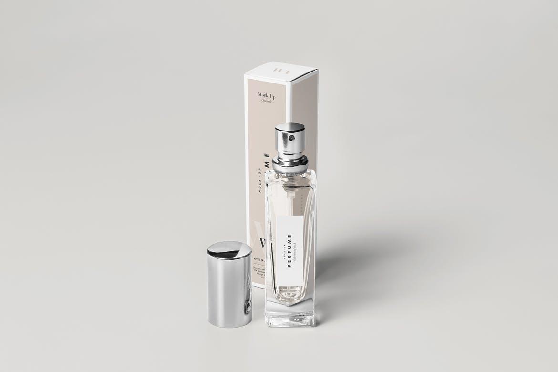 高端化妆品香水包装样机展示  智能贴图psd展示elements-perfume-mock-up-2