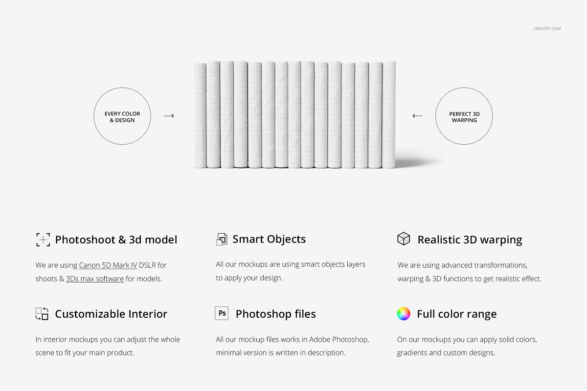 尺寸面料图案花样展示样机下载[PSD]Folded Fabrics Mockup 37 FF v 6 3310020(1)