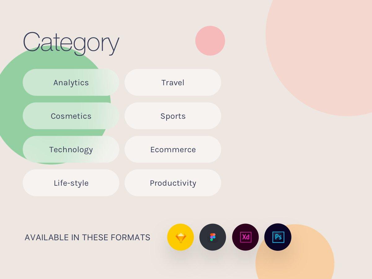 10高质量网页工具包 素材ui下载