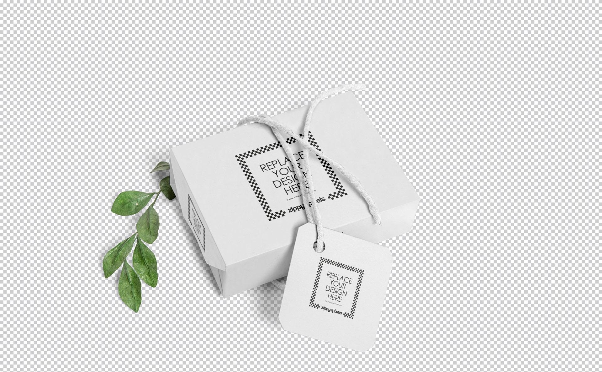 高端精品工艺肥皂包装盒样机Craft Soap Box Mockup