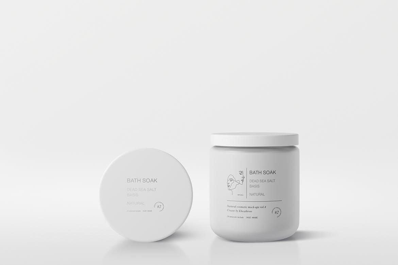 高品质天然化妆品包装设计VI样机智能贴图psd natural-cosmetic-packaging-mock-ups-vol-4