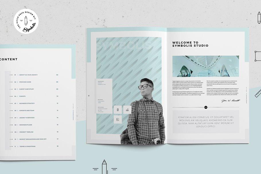 设计师个人包装简历(简历画册)简历模板下载Symbolis Proposal Pitch Pack