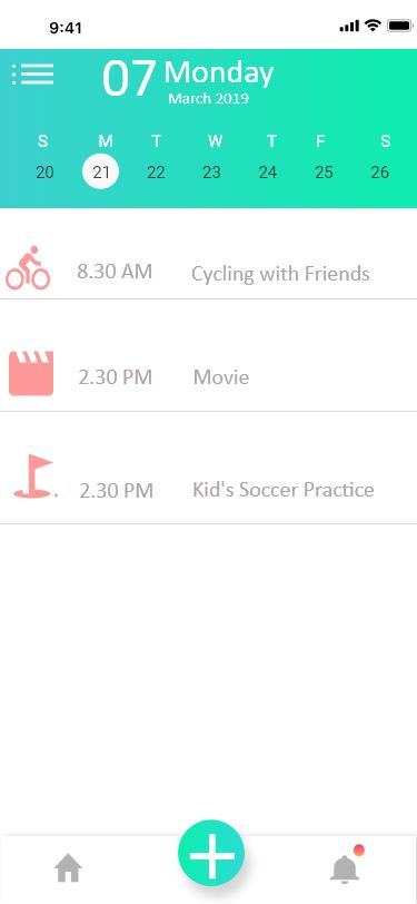 日历UI设计 Calendar UI designs IOS UI
