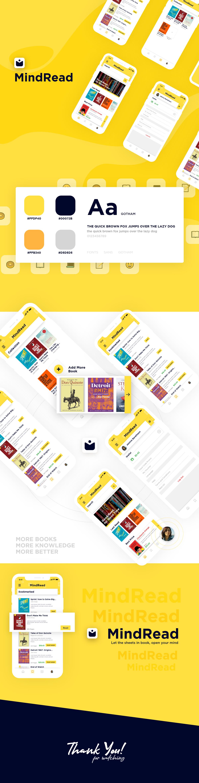 精品阅读书籍电商购物APP素材UI下载