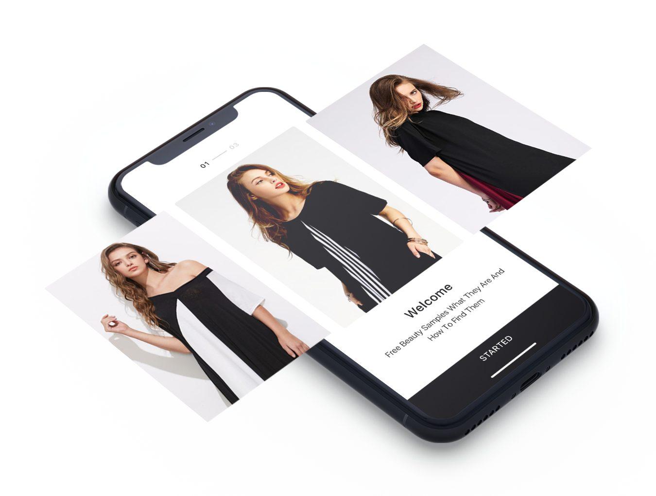 一款IOS11风格服装购物APP Imba App Ui Kit