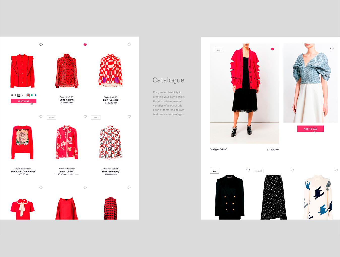 时尚简约大气服装网站 Lilou