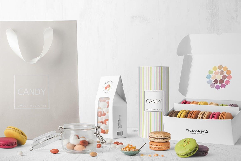 食品甜点美食包装盒样机模板展示样机Box Packaging Mockups Vol. 1